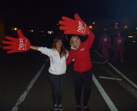 St. Luke's Midnight Walk - Cheer Point!