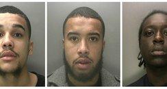 Birmingham cash van robbers