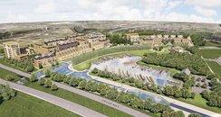 Milton Keynes Marina Development