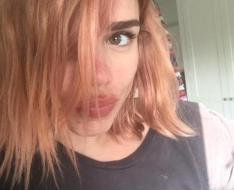 billie piper pink hair twitter