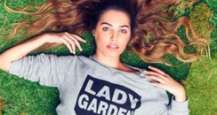 Lady Garden Campaign Large Canvas