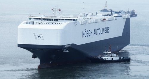 Hoegh Target world's biggest car carrier ship