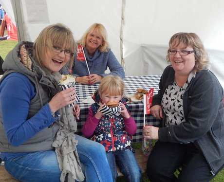 Heart Angels: Powderham Food Fest Sunday