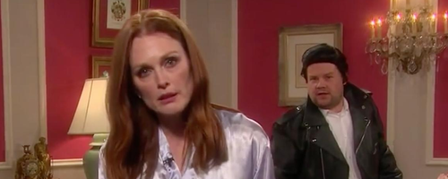 James Corden Julianne Moore YouTube