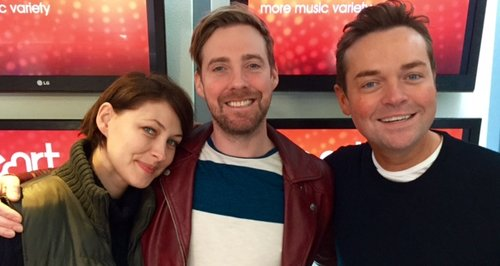 Stephen and Emma with Ricky Wilson