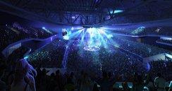 Bristol arena - inside