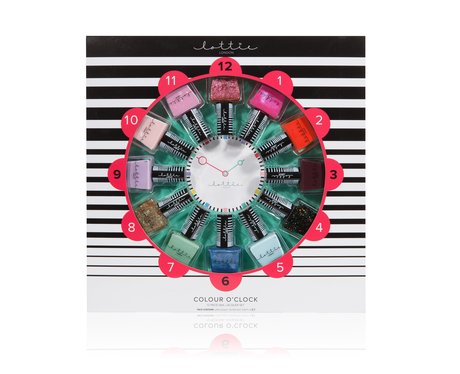 Lottie London Colour O 39 Clock 12 Piece Nail Polish Set