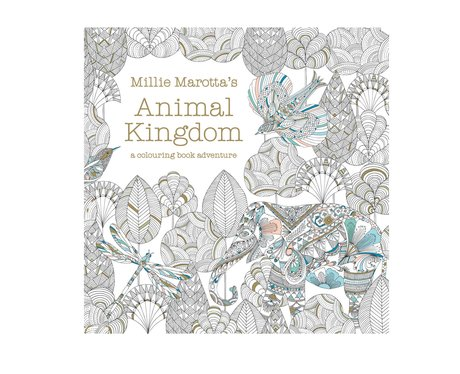 Millie Marotta 39 S Animal Kingdom Colouring Book