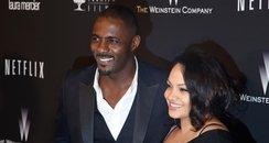 Naiyana Garth and Idris Elba