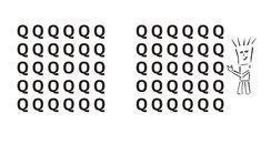 q o optical illusion