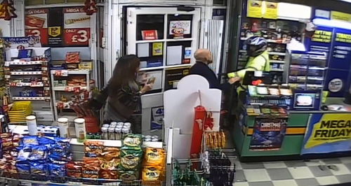 Norwich Robbery CCTV
