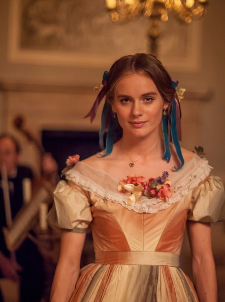Cressida Bonas in Doctor Throne