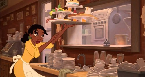 princess and the frog cleaning youtube