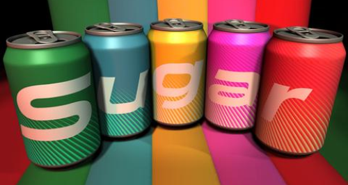 Sugar canned drinks