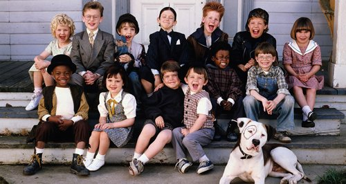 Little Rascals movie cast of kids