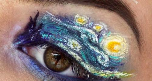 Georgina Ryland Eyeshadow Art Instagram