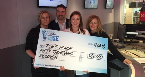 Zoe's Place Cheque