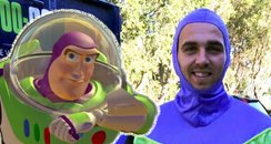 Sam Stephens changes name to Buzz Lightyear