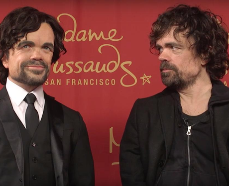 Peter Dinklage Madam Tussauds San Francisco