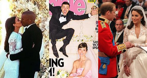 Extravagant celeb weddings