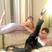 15. Victoria Beckham and Eva Longoria do leg kicks in Cannes.