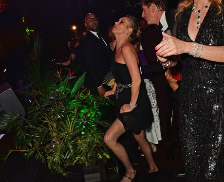 Kate Moss at the Chopard Party in Cannes
