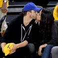 Ashton Kutcher and Mila Kunis kiss