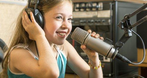 Kids on the radio