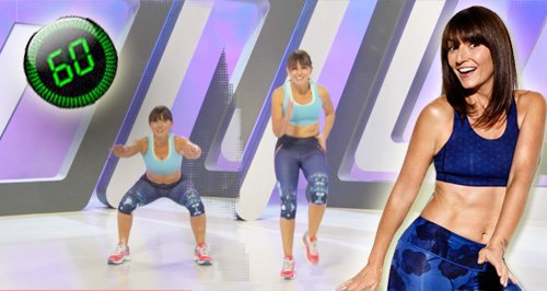 Davina McCall One Minute Workout Canvas