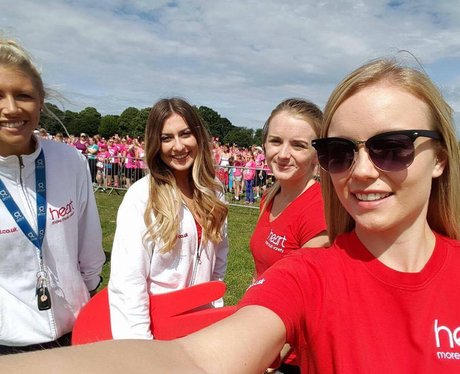 Heart Angels at Maidstone Race for Life