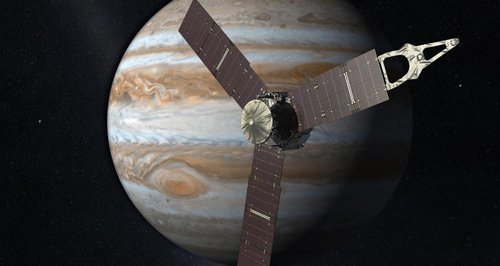 NASA Jupiter Juno probe image