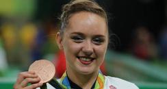 Amy Tinkler bronze