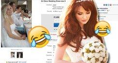 Bride Ebay dress