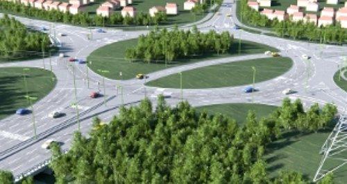 Elmbridge Court Roundabout
