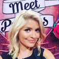 Holly Willoughby shoulder-length haircut