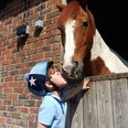 5 year old Ty and his pony Oscar