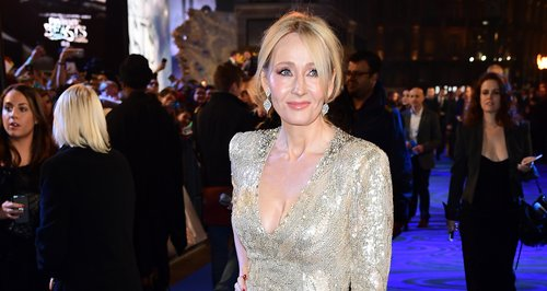 J.K Rowling stuns in a glittering gown at the Fant