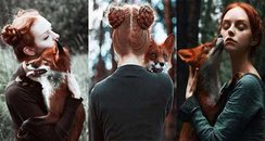 Red heads with foxes