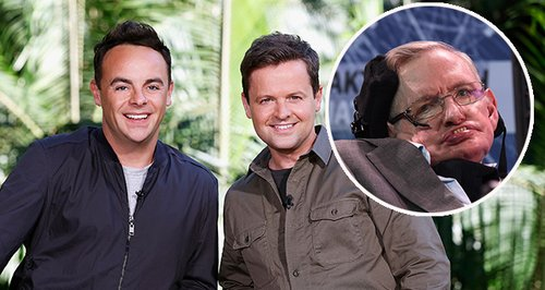 Ant and Dec Stephen Hawking