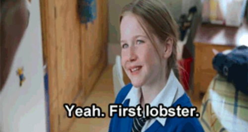 First Lobster Love Actually