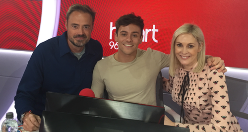 Tom Daley With Jamie And Jenni