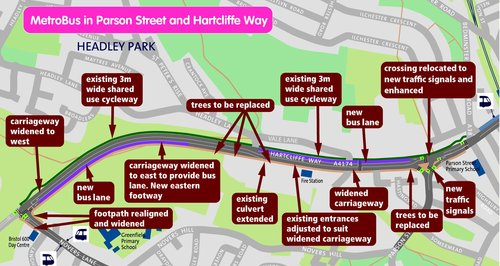 Hartcliffe Way Road Works 2