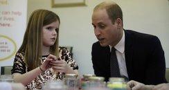 The Duke and Duchess of Cambridge visit Child Bere