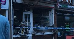Long Ashton Post Office ATM attack 2016