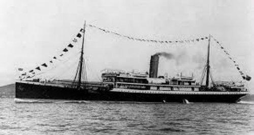 SS Mendi sank Isle of Wight