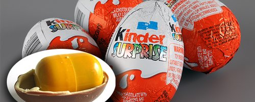 This Is Why Kinder Surprise Toy Cases Are Yellow (