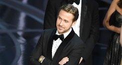 Ryan Gosling Smirking Oscars La La Land Mix-up