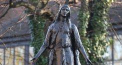Pocahontas Statue in Gravesend