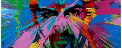 Beautiful George Michael Love Painting