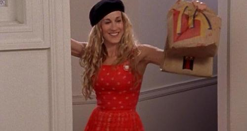 Carrie Bradshaw McDonalds